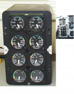 Engine Instrument Cluster